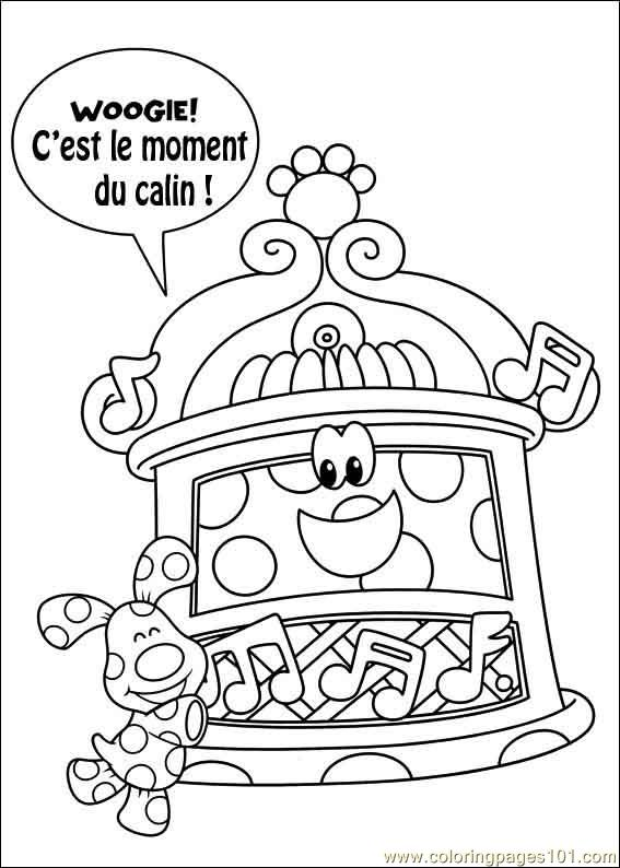 Blues Clues 27 Coloring Page - Free Blue\'s Clues Coloring Pages ...