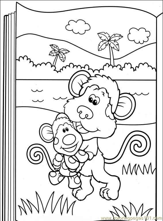 Blues Clues 43 Coloring Page