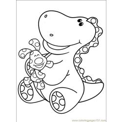Blues Clues 001 (10) Free Coloring Page for Kids