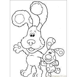 Blues Clues 001 (11) Free Coloring Page for Kids