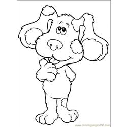 Blues Clues 001 (13) Free Coloring Page for Kids