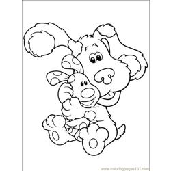 Blues Clues 001 (15) Free Coloring Page for Kids