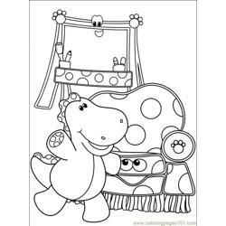 Blues Clues 001 (16) Free Coloring Page for Kids