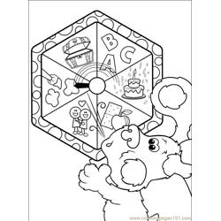 Blues Clues 001 (3) Free Coloring Page for Kids