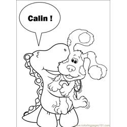 Blues Clues 001 (5) Free Coloring Page for Kids