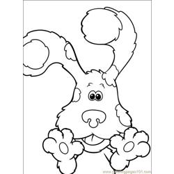 Blues Clues 001 (7) Free Coloring Page for Kids