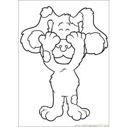 Blues Clues 01 coloring page