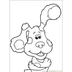 Blues Clues 026 (2) Free Coloring Page for Kids