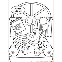 Blues Clues 026 (3) Free Coloring Page for Kids
