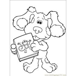 Blues Clues 026 (4) Free Coloring Page for Kids