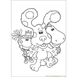 Blues Clues 02 coloring page