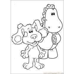 Blues Clues 03 coloring page
