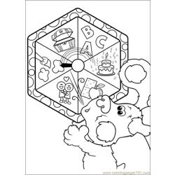 Blues Clues 04 coloring page