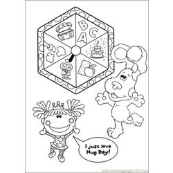 Blues Clues 05 Free Coloring Page for Kids