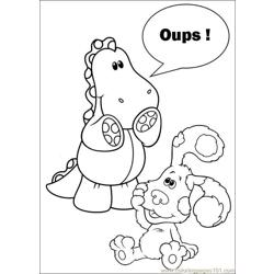 Blues Clues 07 Free Coloring Page for Kids