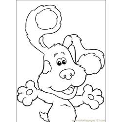 Blues Clues 108 (1) Free Coloring Page for Kids