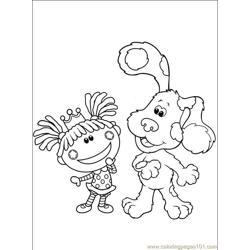 Blues Clues 108 (2) Free Coloring Page for Kids