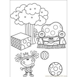 Blues Clues 108 (3) Free Coloring Page for Kids