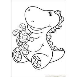 Blues Clues 11 Free Coloring Page for Kids