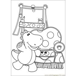 Blues Clues 17 Free Coloring Page for Kids