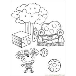 Blues Clues 21 Free Coloring Page for Kids