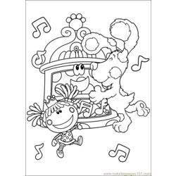 Blues Clues 23 Free Coloring Page for Kids