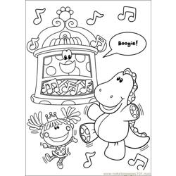 Blues Clues 25 Free Coloring Page for Kids