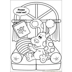 Blues Clues 29 Free Coloring Page for Kids