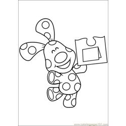 Blues Clues 33 Free Coloring Page for Kids