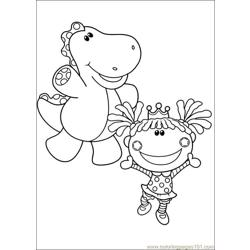 Blues Clues 37 Free Coloring Page for Kids