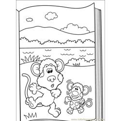 Blues Clues 44 coloring page
