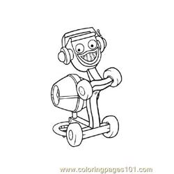 Bob The Builder 1 coloring page
