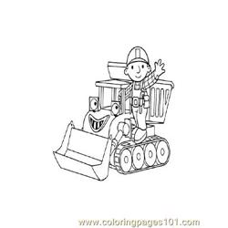 Bob The Builder 2 coloring page