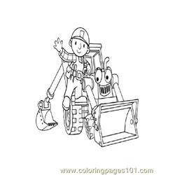 Bob The Builder 3 coloring page
