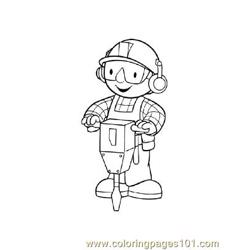 Bob The Builder 5 coloring page