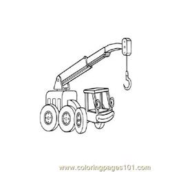 Bob The Builder 6 coloring page