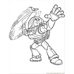 Ghtyear Coloring Pages Disney