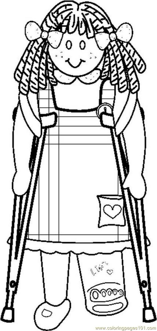 Handicap (16) Coloring Page