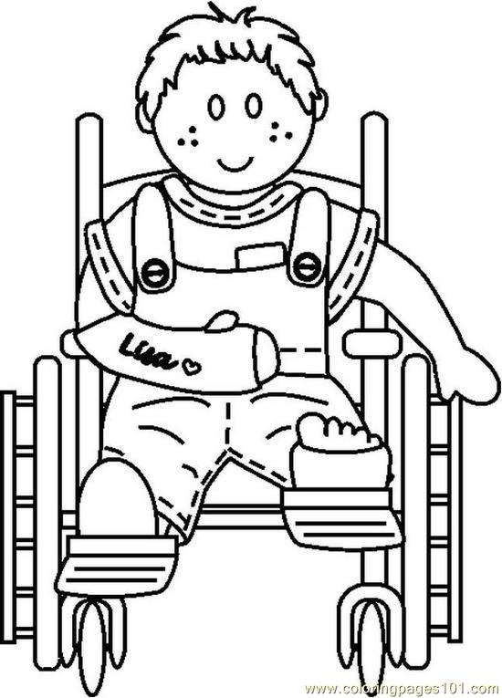 Handicap (18) Coloring Page