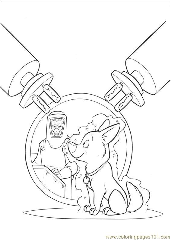 Bolt Coloring Pages 002 Coloring Page