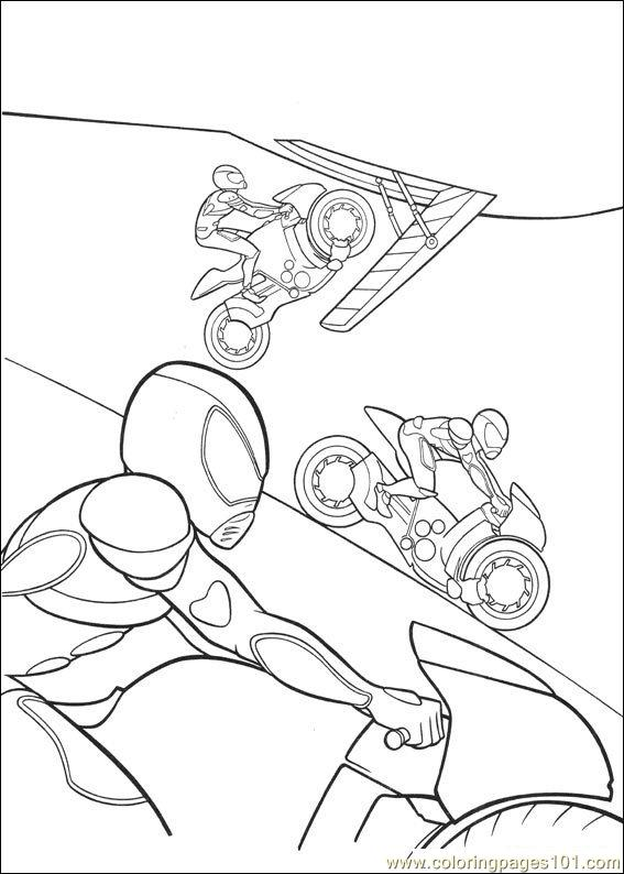 Bolt Coloring Pages 005