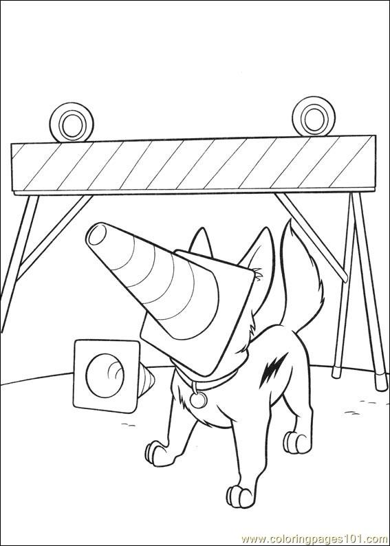 Bolt Coloring Pages 011 Coloring Page
