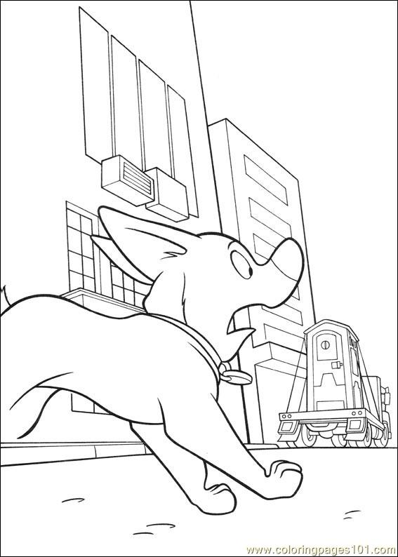 Bolt Coloring Pages 012 Coloring Page