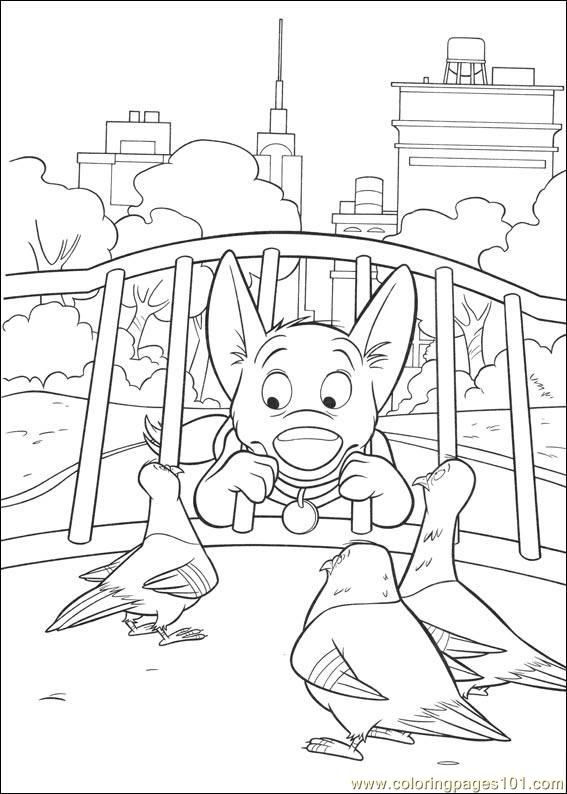 Bolt Coloring Pages 013