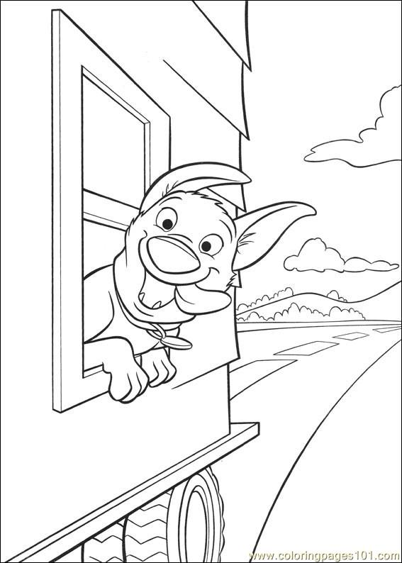 Bolt Coloring Pages 025