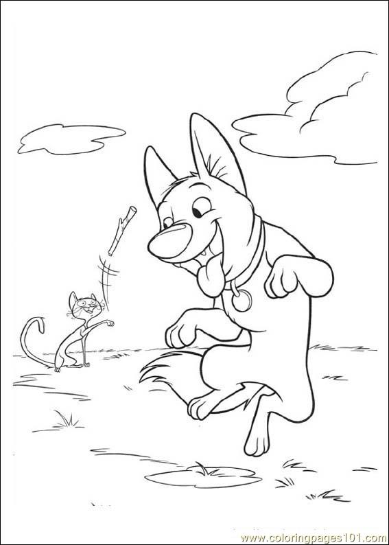 Bolt 05 Coloring Page