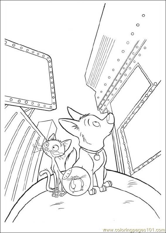 Bolt 06 Coloring Page