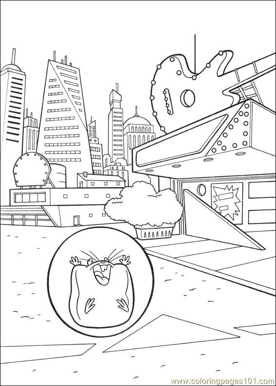 Bolt 28 Coloring Page