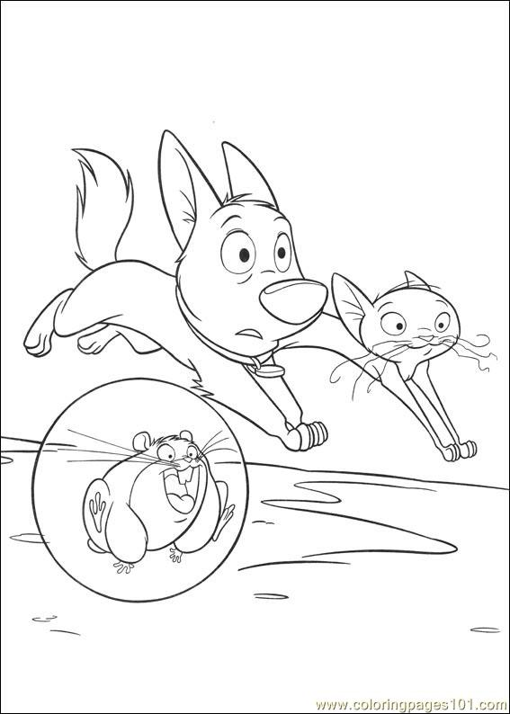 Bolt 38 Coloring Page