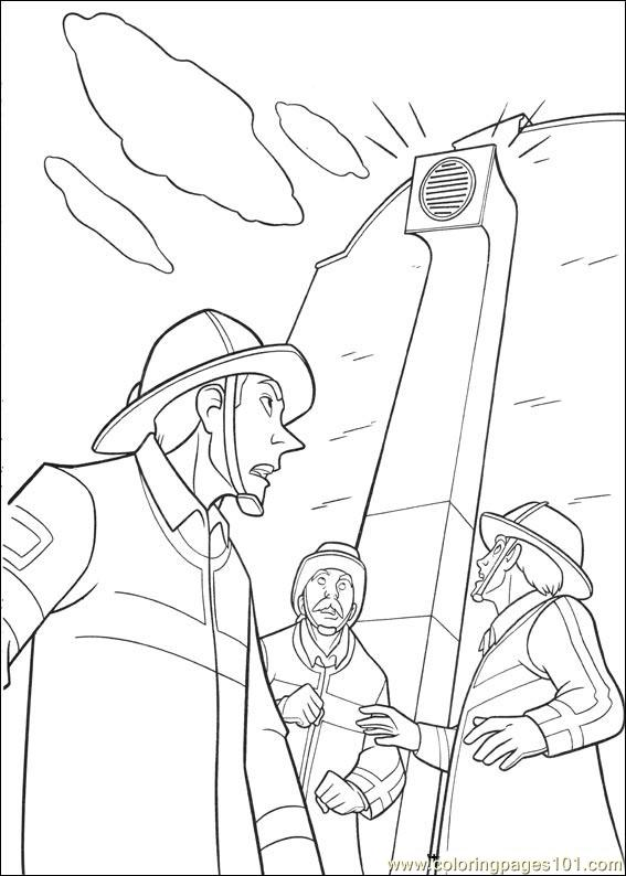 Bolt 42 Coloring Page